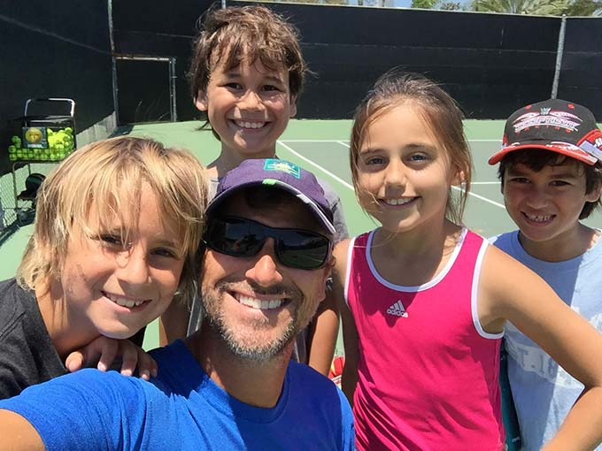 Coach Mike Story Summer Tennis