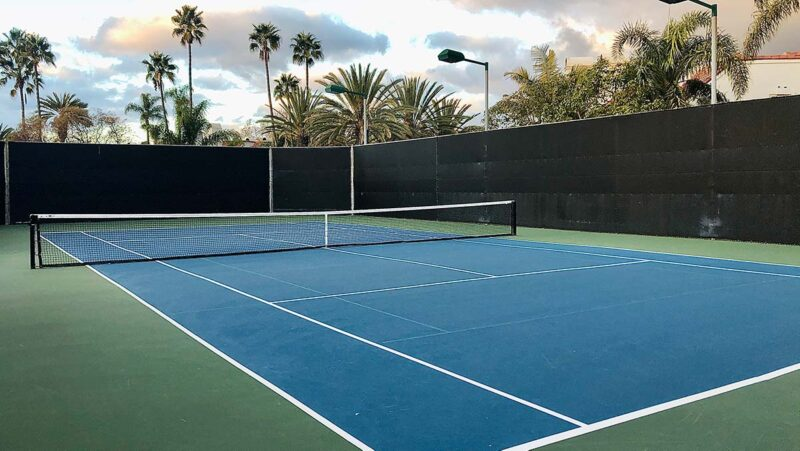 Dana Hills Tennis Center - Court #8 - Coach Mike Story